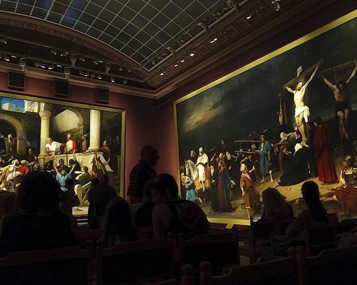 Jogilag is a debreceni Déri Múzeum kezelésébe került Munkácsy Golgota című festménye