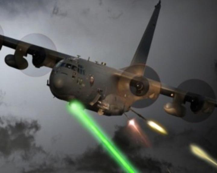 Lézerfegyvert kap az AC-130