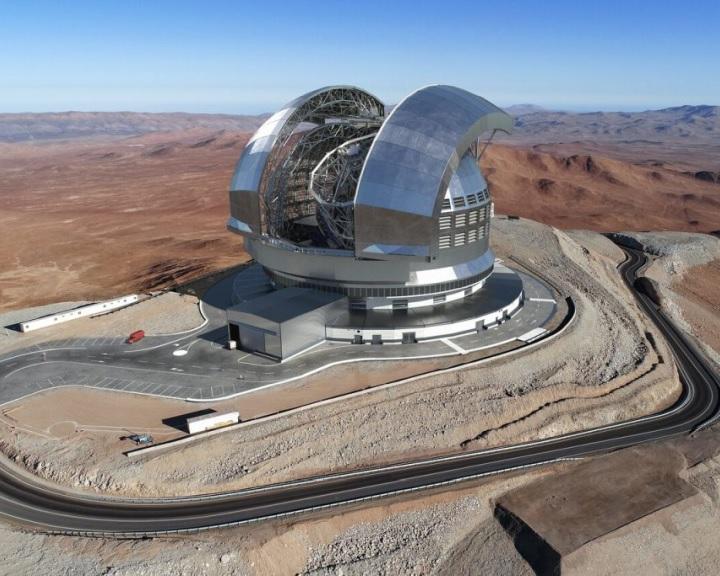 Épül a világ legnagyobb és legélesebb képet adó optikai távcsöve