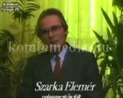 Polgármesterjelölt: Szarka Elemér