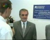 Megújult a Hungária Biztosító Komlói Fiókja (Dr. Mátrai Miklós, Dr. Borbély Attila, Dr. Ja