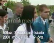 Középiskolai ballagások 2001