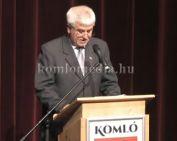 Beszédet mondott a polgármester október 23-án (Polics József)