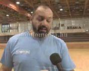 Remekel a kupában a kézilabda csapat (Ratko Djurkovic)