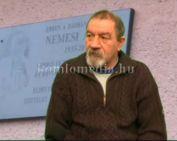 Emléktáblát kapott Nemesi Árpád bácsi fotós (Varga Péter)