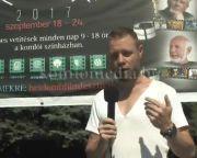 Kihelyezték a Hét Domb Filmfesztivál plakátját a belvárosba (Karagity István)